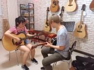 西安北郊大明宫方新村学吉他培训暑期火热报名中