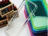 5代透明手机保护壳 透明糖果色TPU清水软胶套 手机外壳保护套