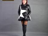 2015新款上架 韩版女式A字型羽绒服 韩版个性羽绒服
