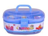 厂家批发最新供应DIY益智玩具智博乐磁力棒玩具450件桶装磁性积