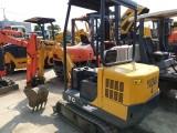 出售二手13型18型20型35微型挖掘機
