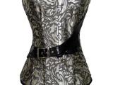 钢骨宫廷塑身腰夹产后瘦身美体燃脂聚拢束腰收腹带透气束身衣5302