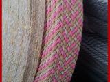 精品热销 间色格子编织带 优质双层编织带 多款任选