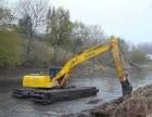 220型挖掘机出租水陆挖掘机出租水陆两用挖掘机出租