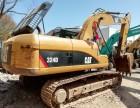 正宗全进口卡特324D挖掘机原车原版动力强劲