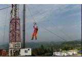 西安鸿安消防井架二层台逃生装置