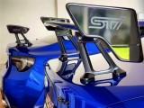 丰田86BRZ改装新旧款STI款尾翼 干碳纤维尾翼 支架尾翼