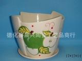 陶瓷仿古花盆 家居陶瓷工艺品 花盆陶瓷