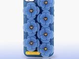 厂家一件代发超薄透明TPU苹果保护壳 iphone5S花朵手机壳