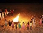 喜洲岛生态之旅 烧烤 篝火晚会 快艇冲浪登岛 放烟花 游泳