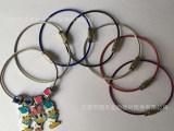 供应饰品专用不锈钢钢丝扣金属丝绳