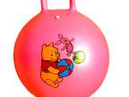 批发儿童充气45cm手柄跳跳球/健身运动球幼儿园宝宝手提球玩具