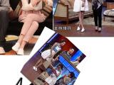 2014韩国系带真皮小白鞋 复古英伦风圆头平底女鞋平跟休闲牛津鞋