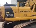 红河个人一手小松200-8N1挖掘机整车原版低价出售
