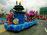 迪士尼花车制作 花车展览公司 海洋花车出租出赁