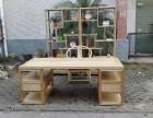 中式实木书桌仿古办公桌书法桌椅组合书桌书画案大班台写字台