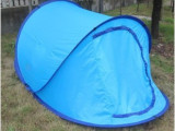 供应 防暴雨2秒速开双人加大款懒人休闲户外野营露营帐篷 船帐