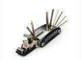组合工具自行车内六角螺丝刀套筒扳手多功能折叠工具15合1修车