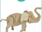 热销创意礼品 DIY玩具小象3D立体拼图