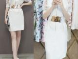 2015夏装新款V领蕾丝欧根纱短袖连衣裙夏修身显瘦包臀半身裙