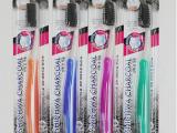 批发韩国进口竹炭软毛牙刷 纳米抗菌 保护牙龈 日用百货