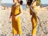 童装童裙批发 2014夏季新款韩版女童装 中小童纯色背心长裙