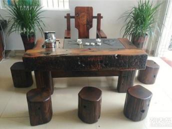 船木家具休闲茶几样式新颖/厂家设计定做