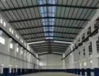 蔡甸常福村单一层砖墙钢构厂房3500平带精装办公室