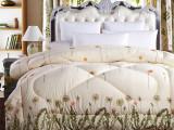 新款加厚丝棉被芯超柔保暖印花纤维被子冬季双人冬被南通厂家批发