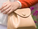 2014年新版女包 高档现货真皮女包新款 大牌瀑款钮扣牛皮女包小包