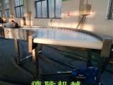 德隆非标定制转弯机流水线输送机食品输送机不锈钢输送机传送机