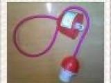 E27塑料吊灯吸顶灯罩电源线塑料卡式灯头吊灯组件