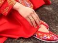 二月剪绣花鞋,一针一线彰显传统丶
