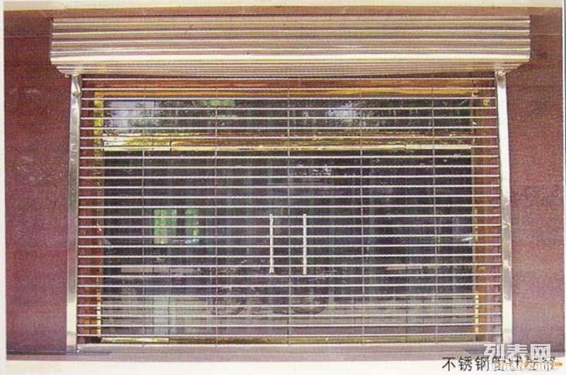 石家庄不锈钢卷闸门多少钱一平方,石家庄不锈钢卷帘门价格