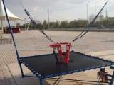 广场折叠钢架蹦极游乐设备儿童弹跳床玩具景区设备