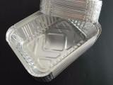 185焗饭锡纸盒烧烤锡纸盘一次性外卖打包饭盒意面方形铝箔盒