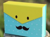 包装盒 可爱小礼盒 经典小单盒  家居置物盒子 专业定制