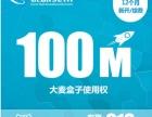 100M12个月618元赠送大麦盒子使用权