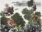 阮江华书画鉴定,阮江华山水画艺术,阮江华山水画市场前景