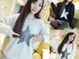 2015新款原宿风卫衣女装学生上衣闺蜜姐妹装秋冬季圆领T恤