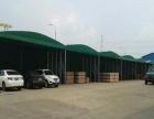 移动雨棚遮阳雨篷仓库推拉帐篷推拉活动蓬遮阳棚 伸缩