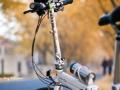 闲置折叠自行车