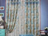 欧式提花高精密窗帘布 高端 大气 色织 较新款窗帘 批发定做