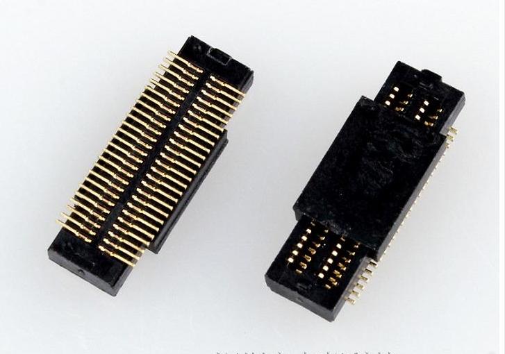 生产0.5mm板对板连接器