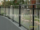 安平锌钢护栏 锌钢喷塑护栏 铁艺围墙护栏 小区锌钢护栏专业出口