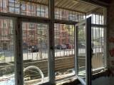 通州区梨园专业更换断桥铝门窗 封阳台安装案例