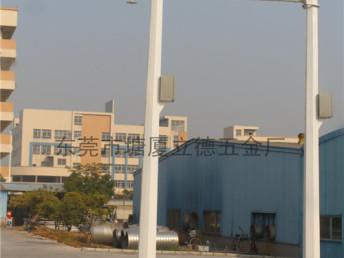 东莞市塘厦立德五金厂定制多边形监控 路灯柱,欢迎致电:欢迎来