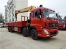 东风天龙前四后八三一12吨 14吨 16吨随车吊 国五1年1万公里5万