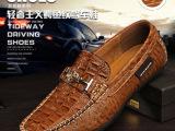 厂家直销新款男豆豆鞋单鞋时尚真皮男士驾车鞋套脚男皮鞋懒人鞋