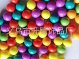 厂家批发亚克力珠子塑胶无孔圆珠 塑料实心